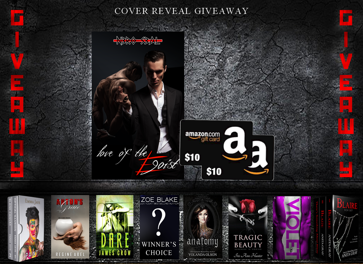 Love of the Egoist - cover reveal Giveaway!